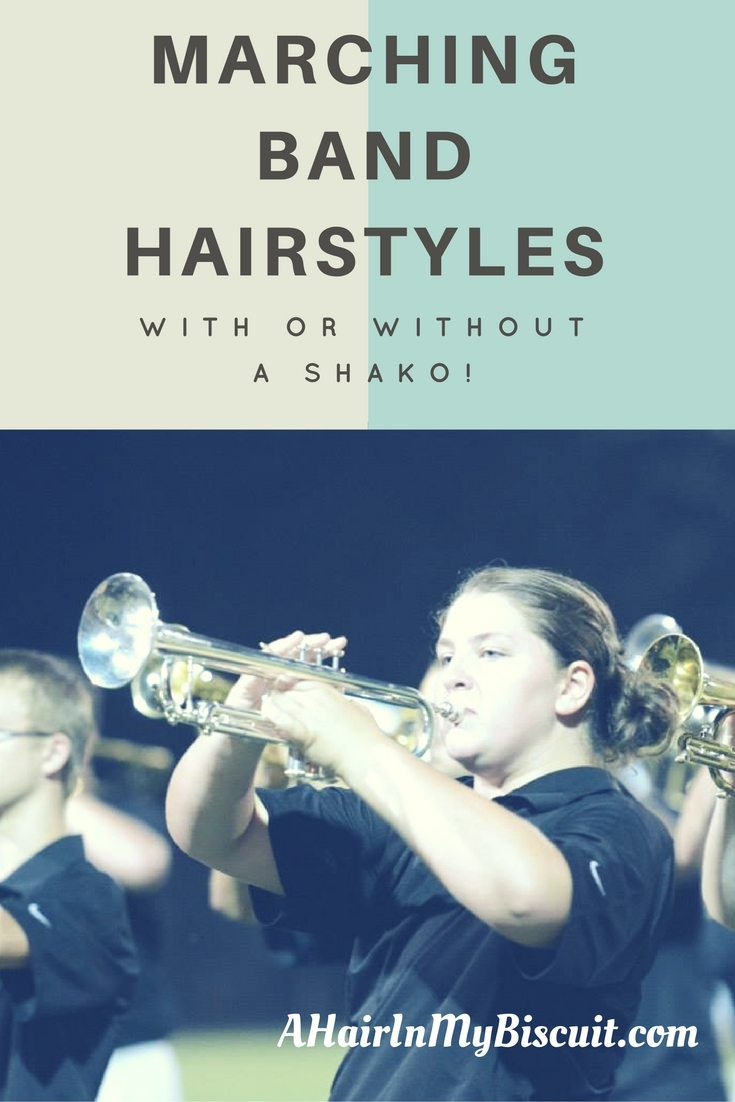 marching band hairstyles